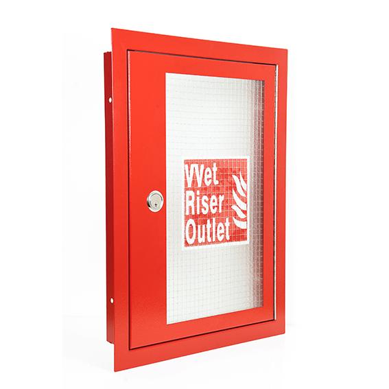 Drc W Red Vertical Inlet Architrave Door Cabinet For Wet Riser Lr on Fire Sprinkler Riser Check Valve