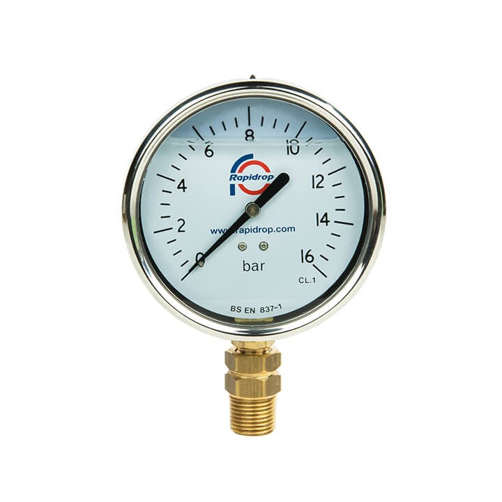 Pressure Gauge Glycerine Filled