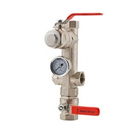 Dual Port Residential Valve Set