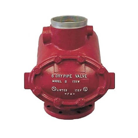 "Model B 6"" Dry Pipe Valve (Flanged / Grooved)"