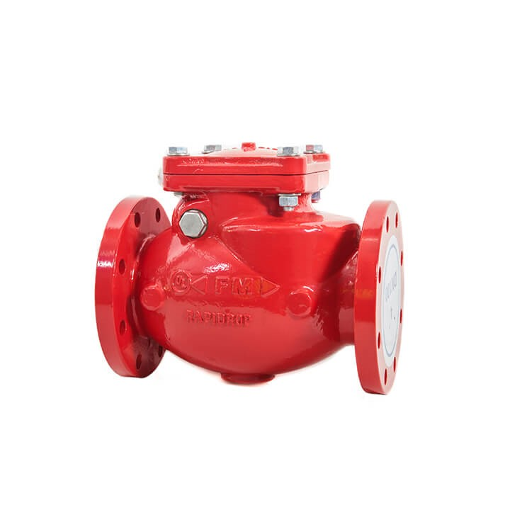 CVF300 Resilient Seat Swing Check Valve (Flanged)