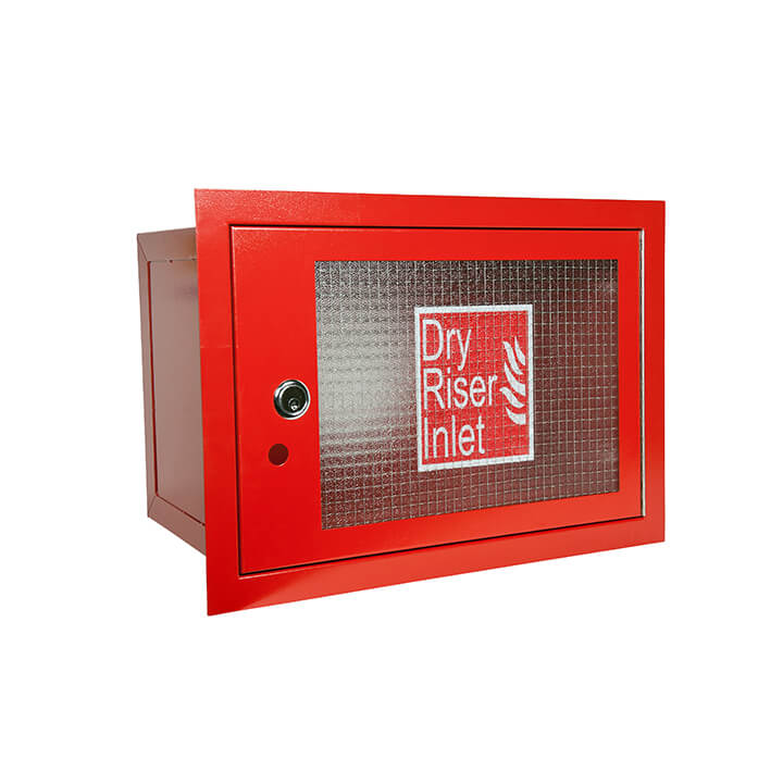 10.15 [RDC011] [Horizontal Dry Riser Inlet Cabinet   Red]