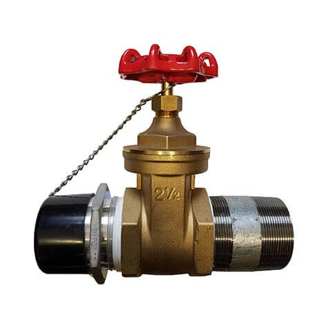 Drain Line Gate Valve for Wet Riser
