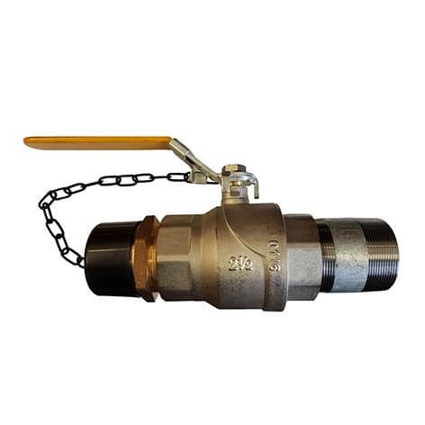Drain Line Ball Valve for Wet Riser