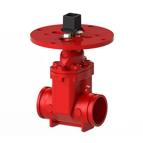 104GG NRS Resilient Wedge Gate Valve (Grooved)